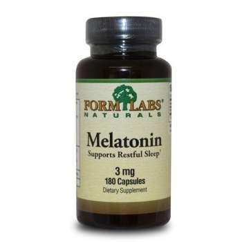 Улучшение сна Form Labs Melatonin 3 мг