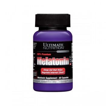 Улучшение сна Ultimate Nutrition Melatonin производство США