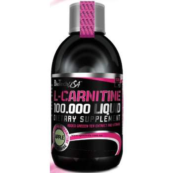 Л-карнитин BioTech L-CARNITINE LIQUID 100 000 производство США