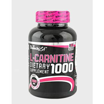 Л-карнитин BioTech L-CARNITINE 1000 MG производство США