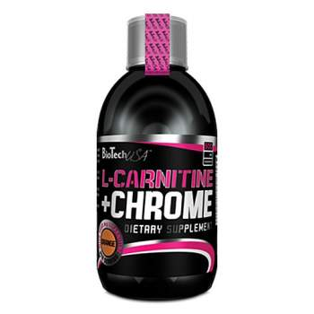 Л-карнитин BioTech L-CARNITINE + CHROME производство США