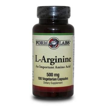 Аминокислоты Form Labs L-Arginine 500 мг