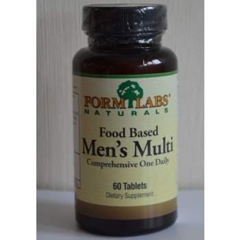 Витамины и минералы Form Labs Food Based Men's Multi производство Германия