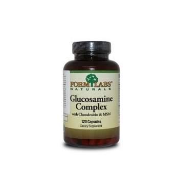 Для суглобів і зв'зок Form Labs Glucosamine complex, Chondroitin & MSM виробництво США