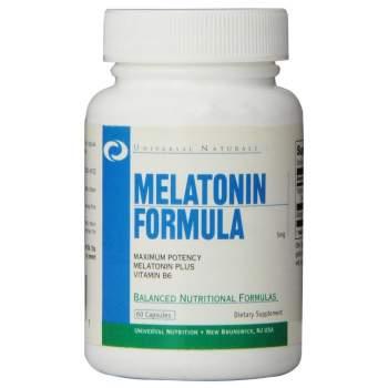 Улучшение сна Universal Nutrition Melatonin производство США