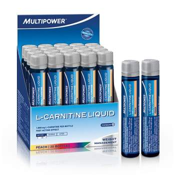 Л-карнитин Multipower L-carnitine liquid производство Германия