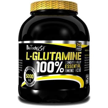 Глютамин BioTech 100% l-glutamine производство США