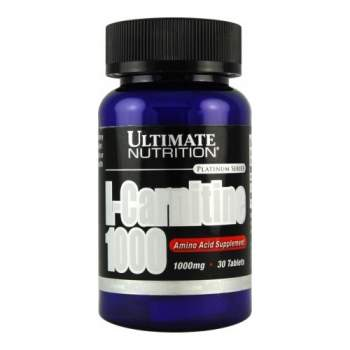 Л-карнитин Ultimate Nutrition L-Carnitine 1000 производство США