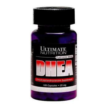 Повышение тестостерона Ultimate Nutrition DHEA 25 mg производство США