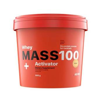Гейнер AB PRO Mass 100 + Whey Activator производство Украина
