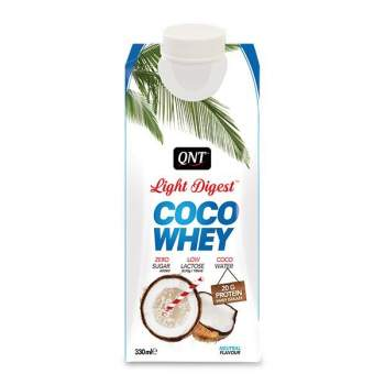 Протеин QNT Light Digest Coco Whey производство Бельгия
