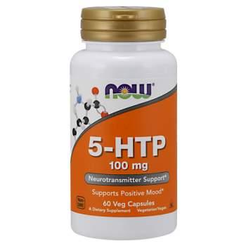 Улучшение сна NOW 5-HTP 100 мг производство США
