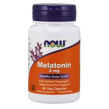 Улучшение сна NOW Melatonin 3 мг производство США