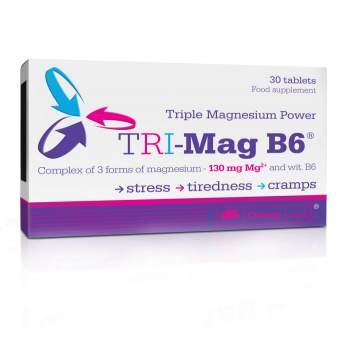 Витамины и минералы Olimp TRI-Mag B6 производство Польша