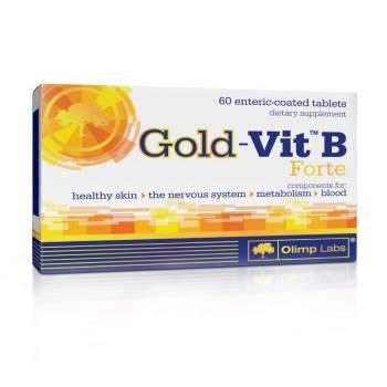 Витамины и минералы Olimp Gold-Vit B forte производство Польша