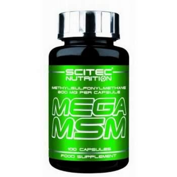 Для суставов и связок Scitec Nutrition Mega MSM производство Венгрия