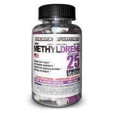 Methyldrene 25 White