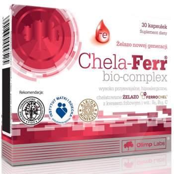 Витамины и минералы Olimp Chela-Ferr Bio-Complex производство Польша