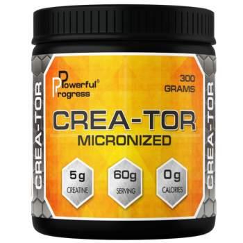 Креатин Powerful Progress Crea-Tor Micronized производство Украина