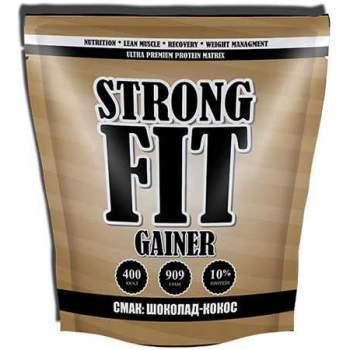 Гейнер Strong FIT Gainer 10% protein производство Украина