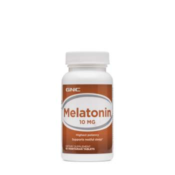 Улучшение сна GNC Melatonin 10 мг производство США