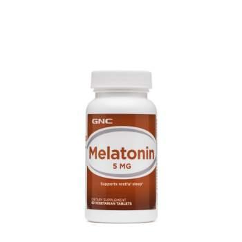 Улучшение сна GNC Melatonin 5 мг производство США
