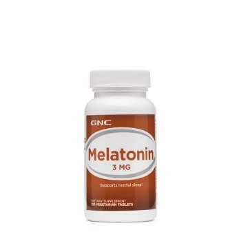 Улучшение сна GNC Melatonin 3 мг производство США