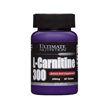 Л-карнитин Ultimate Nutrition L-Carnitine 300 мг производство США
