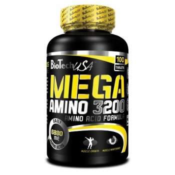 Аминокислоты BioTech Mega Amino 3200 производство США