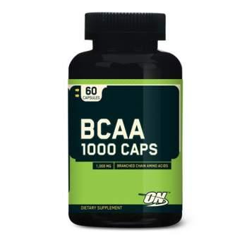 BCAA Optimum Nutrition BCAA 1000 caps производство США