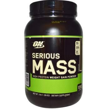 Гейнер Optimum Nutrition Serious mass производство США