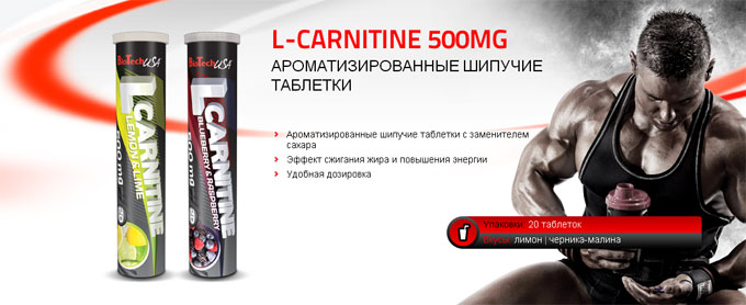 L-CARNITINE 500 MG BioTech